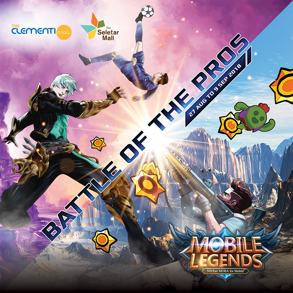 ESports Festival 2018: Battle of the Pros - Mobile Legends Rules